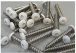 10 x 1-1/2 tapping screws 18-8ss